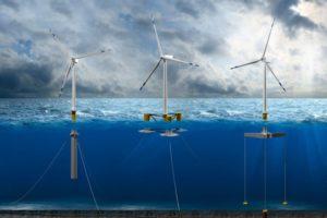 turbina eólica marina