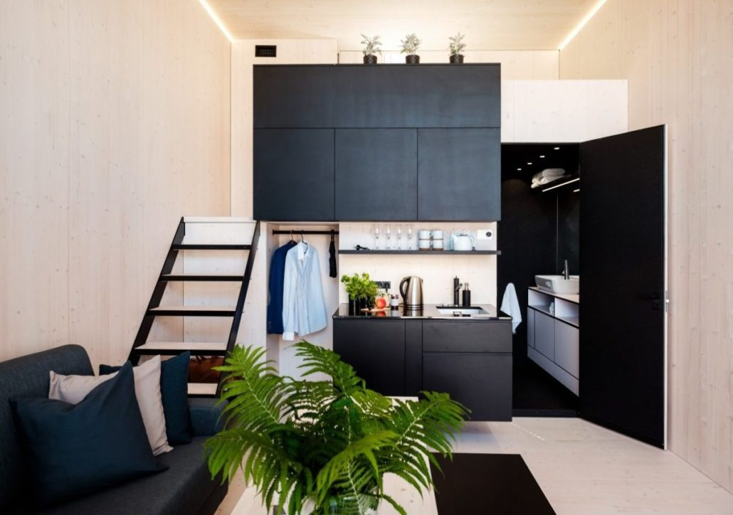 Hogar minimalista ecológico