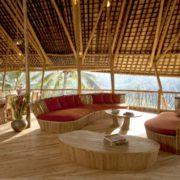construir con bambú