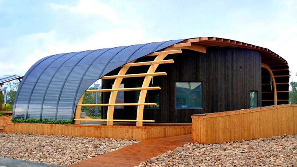 casa flotante ecológica