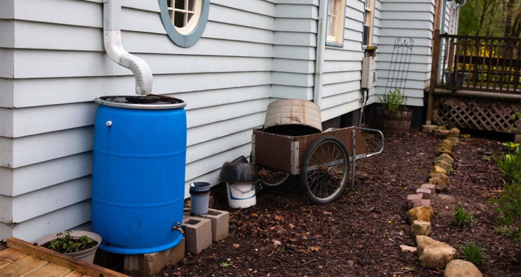 recolección de agua de lluvia