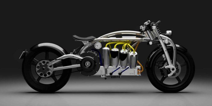 motocicleta eléctrica zeus 2020