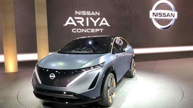 Nissan presentá el concepto Ariya