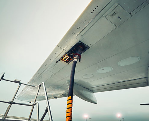 combustible de aviación sostenible