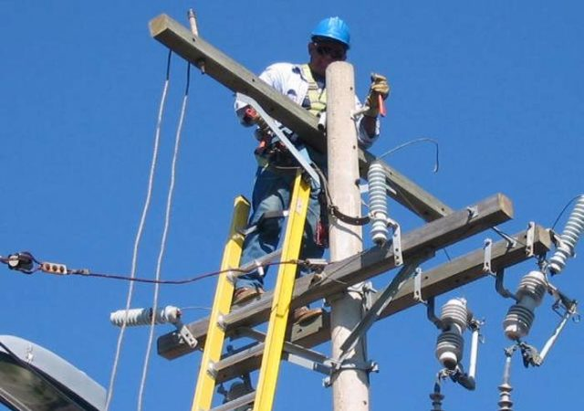 red Eléctrica comercial
