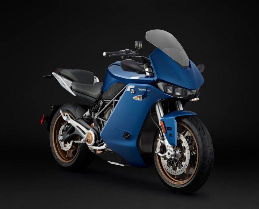 motocicleta eléctrica zero sr/s