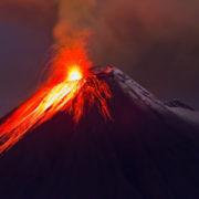 la actividad volcánica