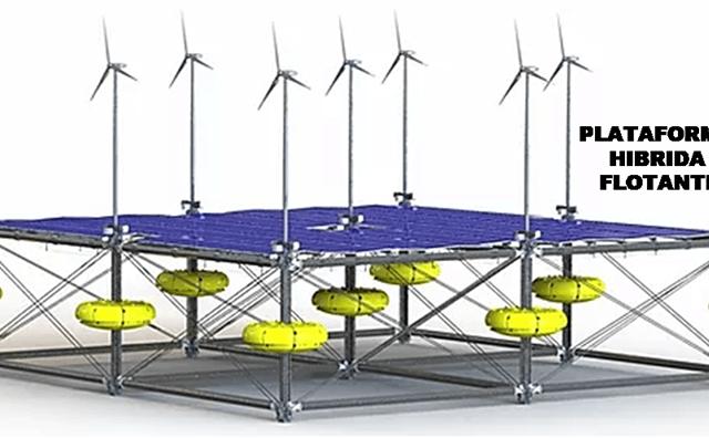 plataforma híbrida oceánica