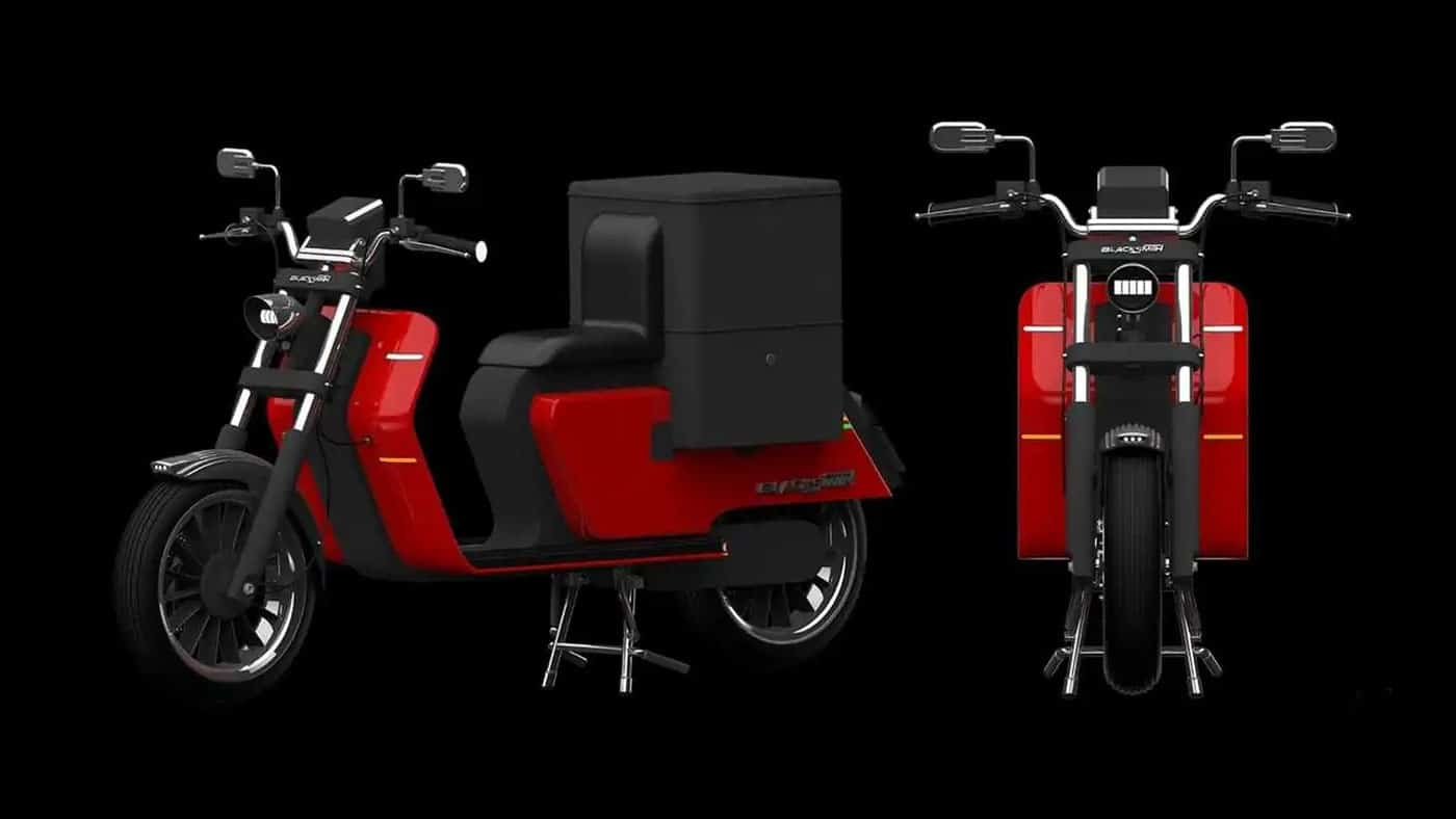 Nueva scooter eléctrico Blacksmith Electric