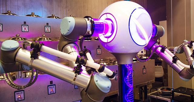 Restaurante robot de China