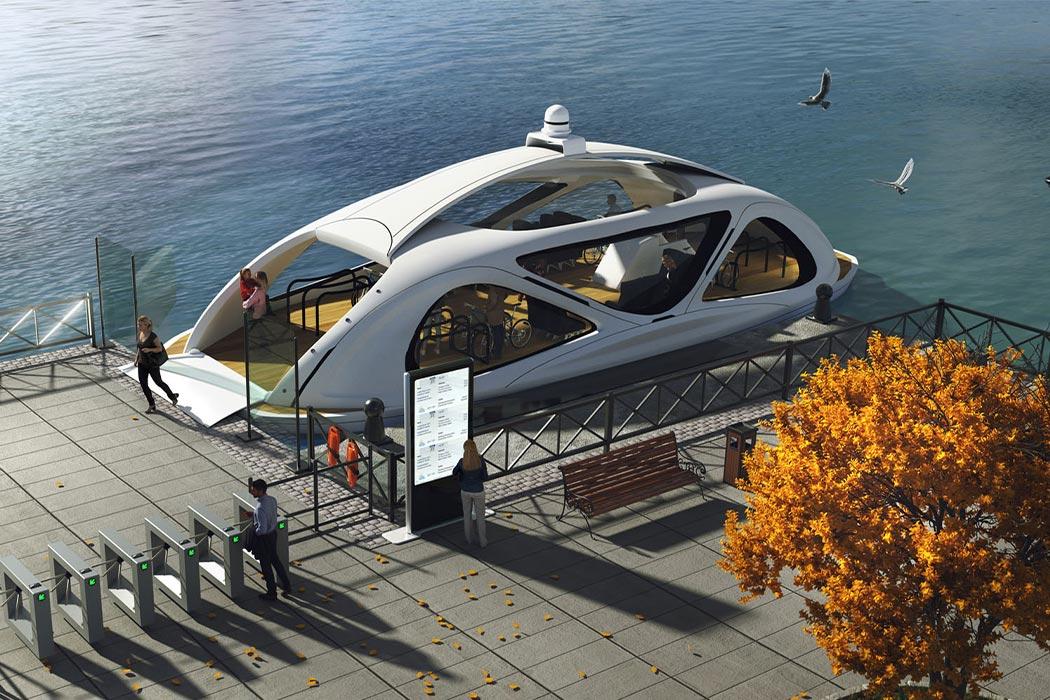 El ferry eléctrico autónomo de Zeabuz