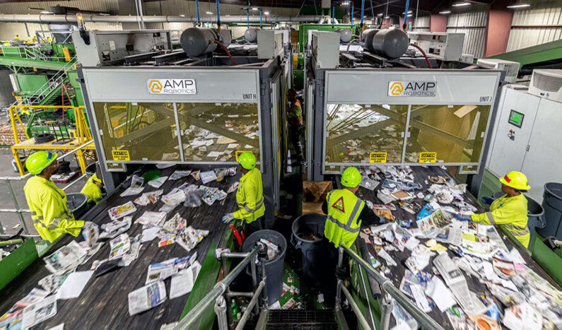 robots que clasifican la basura