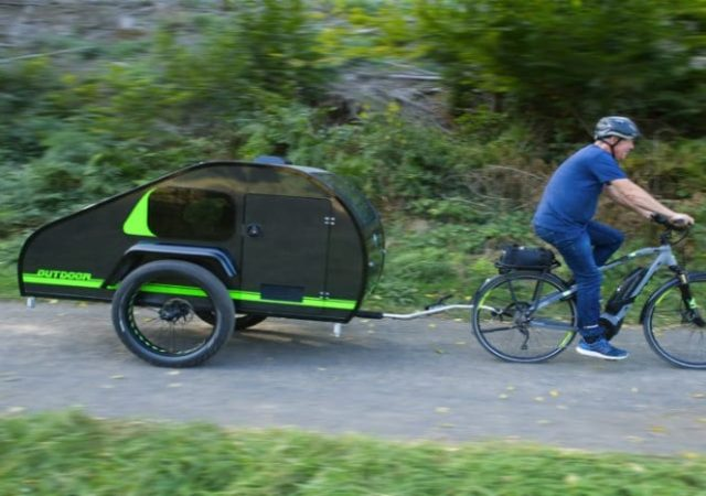 Caravana para bicicletas
