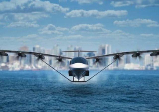 ferry Seaglider volador eléctrico