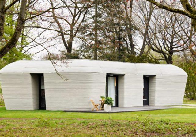 Habitada primera casa impresa en 3D en Europa
