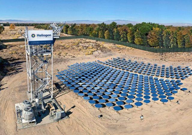 Heliogen, refinería de luz solar