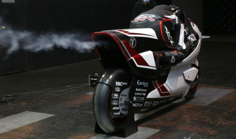 La moto eléctrica que quiere alcanzar 400 kmh