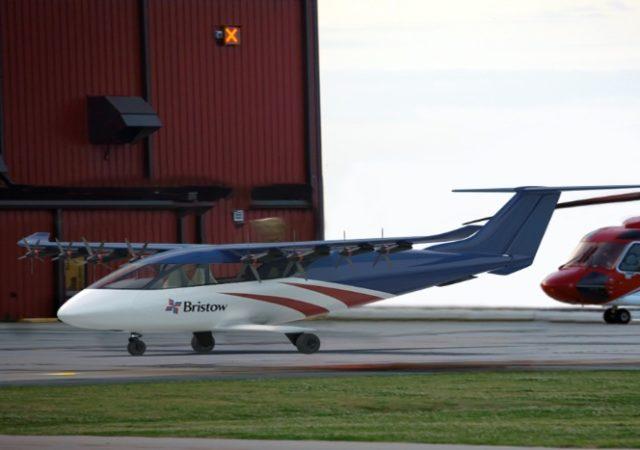 helicópteros Bristow se asocia con Electra en el desarrollo de eSTOL.