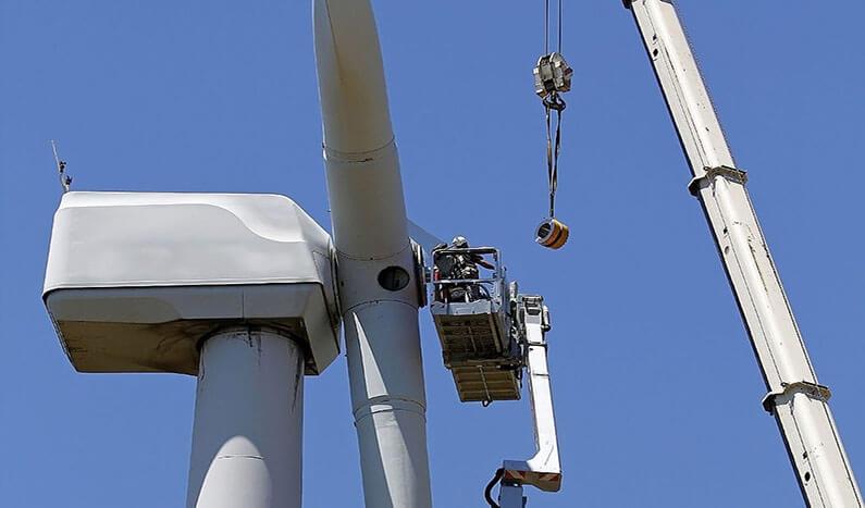 reutilizar las palas de las turbinas eólicas