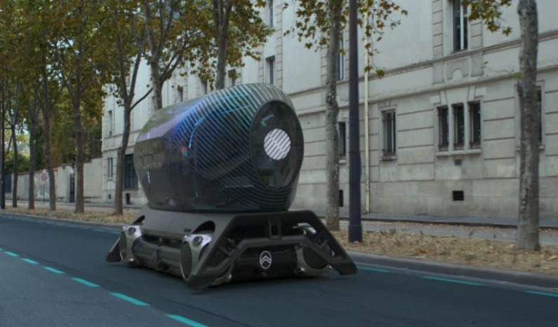 Citroën Skate, cápsulas intercambiables para viajes al interior de la ciudad.